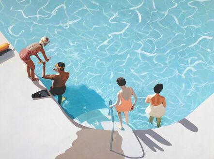 Jessica Brilli, 'Diving Lesson', 2020