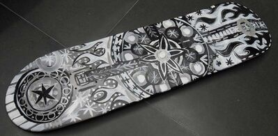 Mark T. Smith, 'Skate Deck: Design 2', 2010