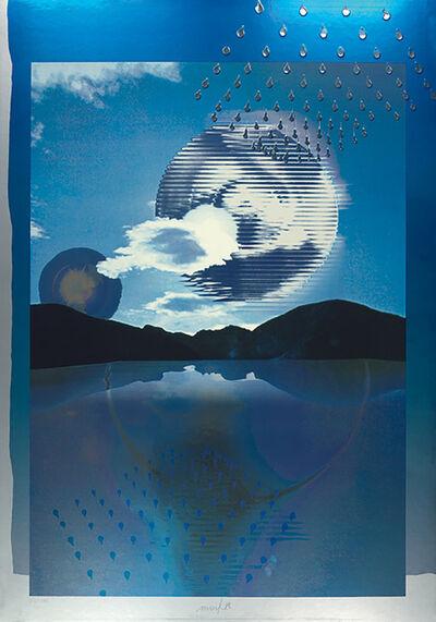 Heinz Mack, 'Kunst im Jahr 2000', 1986