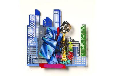 David Gerstein, 'Clarinet Player - Paper Cut ', 2007