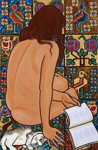 Mona Trad Dabaji, 'Omar Khayyam a l'Heure de la Sieste ', 2013