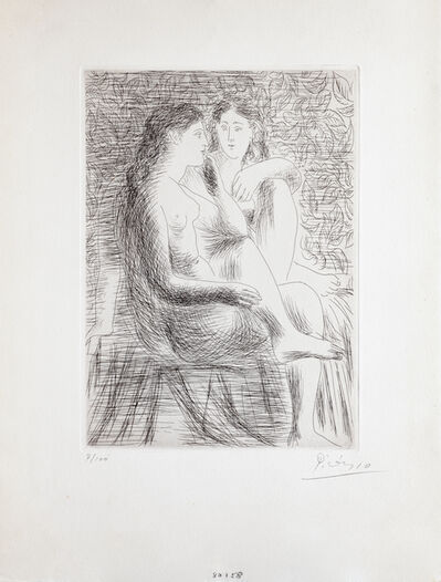 Pablo Picasso, 'Deux Nus assis', 1930