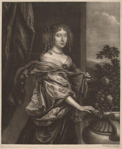 Wallerant Vaillant, 'Portrait of a Lady beside a Rose Bush', ca. 1655