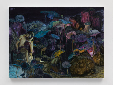 Samuel Quinteros, 'Lotus Jewel Garden', 2020
