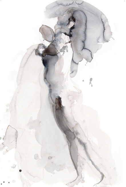 Eric Fischl, 'New Works in Paper and in Glass: Arching Woman (portfolio of 3 prints)', 2012