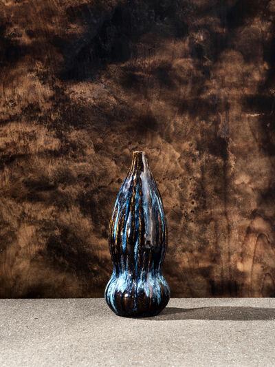 Pierre Adrien Dalpayrat, 'Black Gourd', ca. 1900