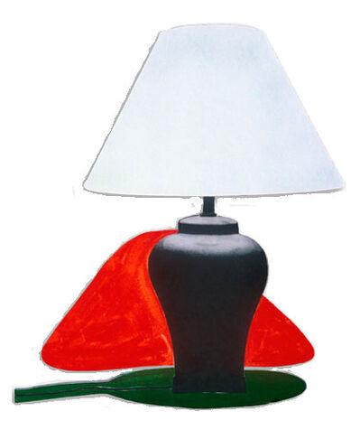 John Baldessari, 'Table Lamp and its Shadow C & I', 1994