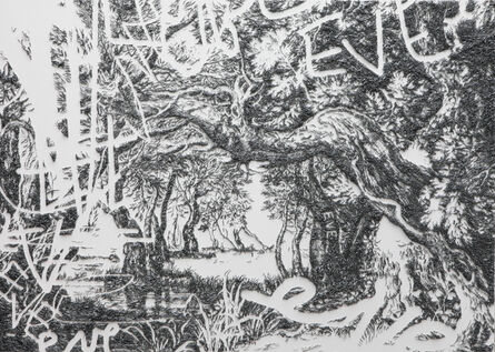 Baptiste Debombourg, 'Aggravure XXXV', 2013
