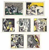 Roy Lichtenstein, 'Expressionist Woodcut Series', 1980