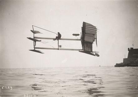 Marcel Branger, 'Monaco, Hydro/Aero Plane of Fabre', ca. 1910