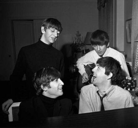 Harry Benson, 'Beatles Composing, George V Hotel, Paris', 1964