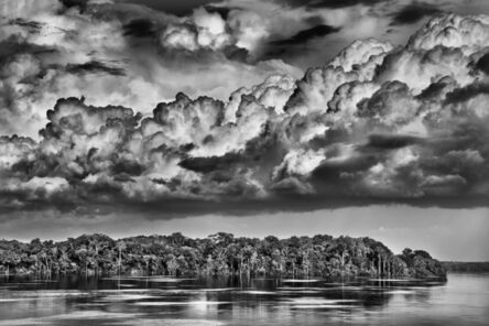Sebastião Salgado, 'The paraná connecting the Rio Negro with the Cuyuní River. In Portuguese, paranás are lake-like bodies of water connected to major rivers by canals called furos (punctures). During floods, the two often merge as if the river were widening. State of Amazonas', 2019 [printed on request]