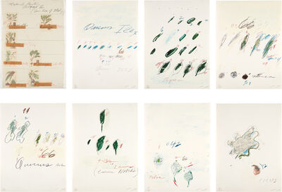 Cy Twombly, 'Natural History Part II: Some Trees of Italy', 1975-76