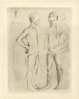 Pablo Picasso, 'Les Deux Saltimbanques, from La Suite des Saltimbanques (Bloch 5)', 1905