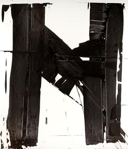 Briggs Edward Solomon, 'Black Brushstrokes 1', 2020