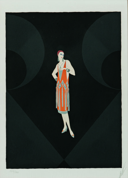 Erté (Romain de Tirtoff), 'Manhattan Mary I', 1979
