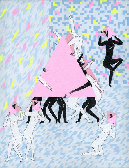 Mark Whalen, '3 Point Dancers', 2015