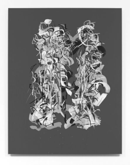 "Carol Salmanson, '""Radiations 8""', 2017"