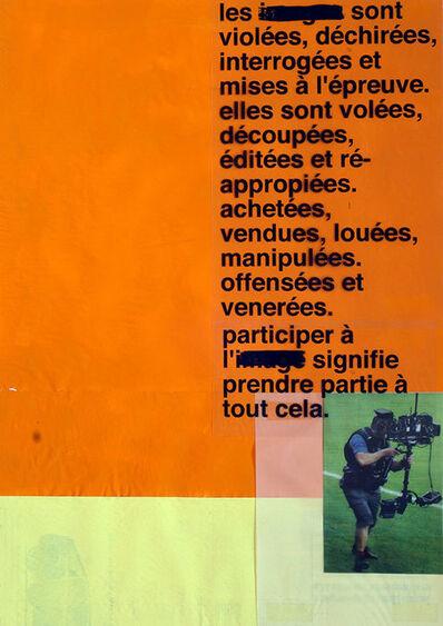 Miquel Mont, 'Elles sont violées, dechirrées...', 2016