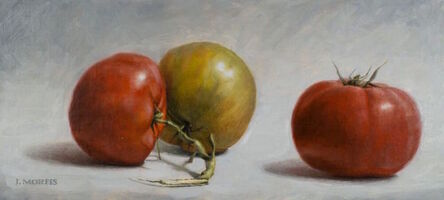 John Morfis, 'Uncle Ted's Tomatoes', 2016