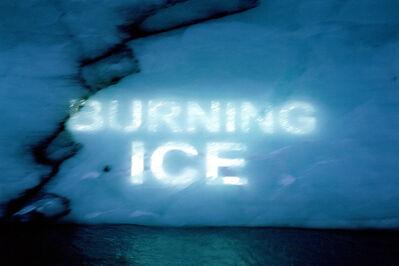 David Buckland, 'Ice Texts', 2005-2010