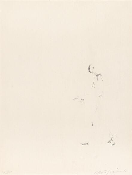 Alberto Giacometti, 'L'HOMME QUI MARCHE (LUST 202)', 1957