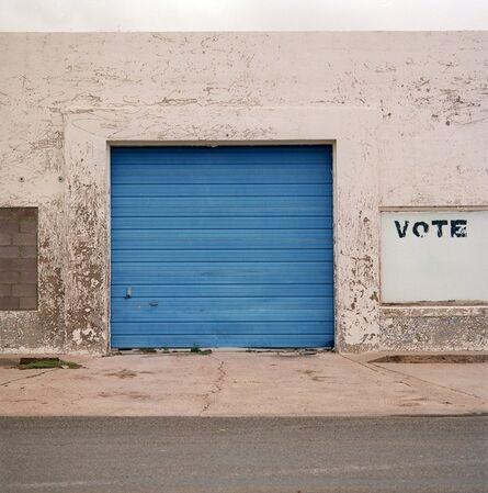 Allison V. Smith, 'Vote. October 2003. Marfa, Texas', 2009