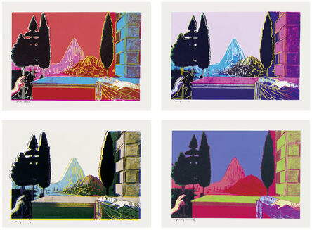 Andy Warhol, 'Details of Renaissance Paintings (Leonardo da Vinci, The Annunciation)', 1984