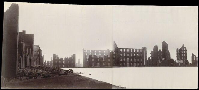 Alexander Gardner, 'Ruins of Gallego Flour Mills, Richmond', 1865