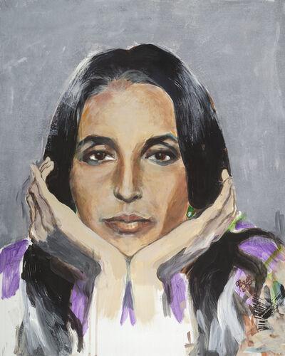 Joan Baez, 'Self-Portrait', 2017