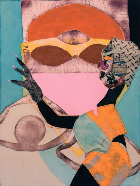 Tschabalala Self, 'Bodega Run', 2015