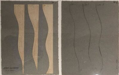 David Lamelas, 'After Duchamp, 3 lines', 1989