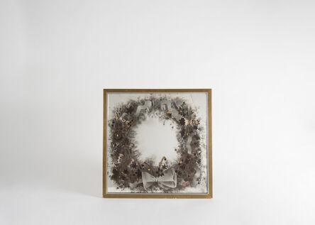 Paule Ingrand (1910-1997) & Max Ingrand (1908-1969), 'Ruban, fleurs, papillons et coccinelle Decorative Mirror', 1947