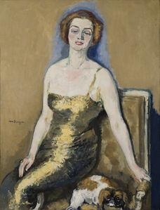 Kees van Dongen, 'Portrait de Madame Van Der Velde', 1920-1923