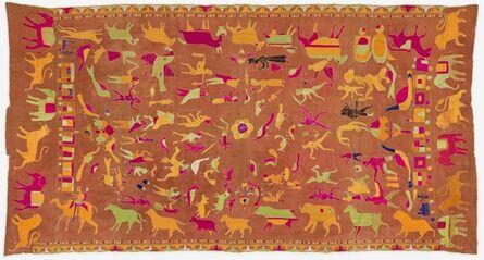 Unknown Artist, 'Sainchi Phulkari', ca. 20