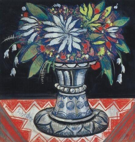 Hugó Scheiber, 'Flowers in a Vase', unknown