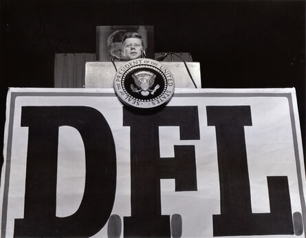 Jerome Liebling, 'President John F. Kennedy at Democratic Farmer Labor Party Bean Feed, State Fairgrounds, St. Paul, Minnesota', 1962