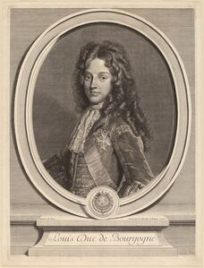 Gerard Edelinck after Francois de Troy, 'Louis, Duke of Burgundy'