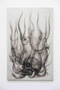 Paolo Canevari, 'Decalogo (Burning Skull)', 2008