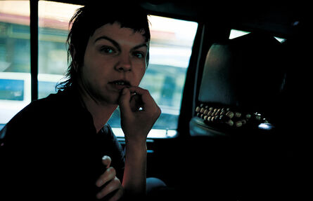 Nan Goldin, 'Valérie in the taxi, Paris', 2001