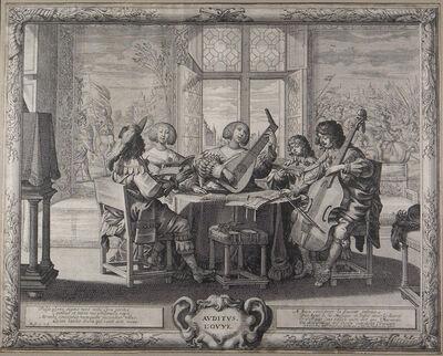 Abraham Bosse, 'The Five Senses (complete set)', ca. 1638