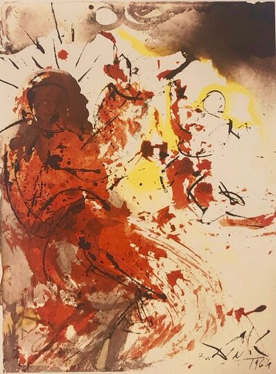 Salvador Dalí, 'Holy Jerome, 'Sanctus Hieronymus', Biblia Sacra', 1967