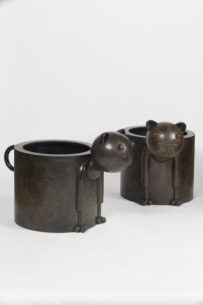Jean-Marie Fiori, 'Pair of Chat-Pot ', 2013