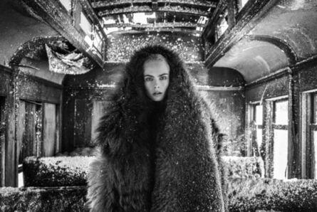 David Yarrow, 'THE GIRL WITH THE LION TATTOO', 2020