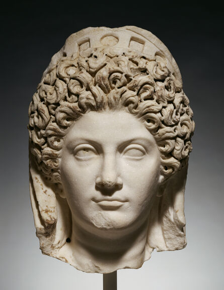 'Portrait Head of Julia Titi',  about 90