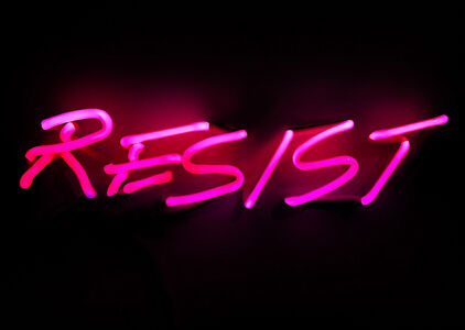 Indira Cesarine, 'RESIST', 2017