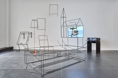 Yves Netzhammer, 'Peripheries of Bodies', 2012