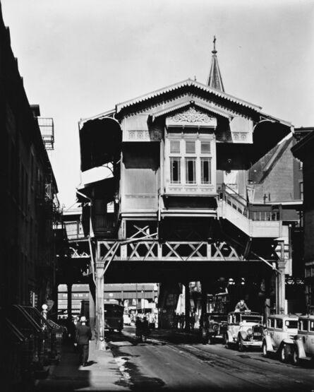 Berenice Abbott, 'El, 9th. Avenue, NYC', 1936