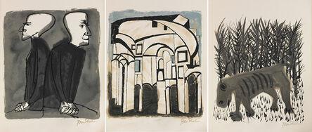 Ben Shahn, 'For the Sake of a Single Verse by Rainer Maria Rilke', 1968
