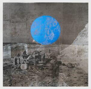 Brook Andrew, 'Beach (blue sun)', 2018